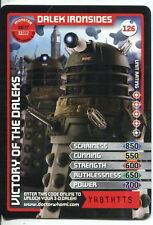 Doctor Who Monster Invasion Card #126 Dalek Ironsides