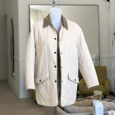 540ce5a973c1 vintage BURBERRYS' Quilted Puffer Corduroy Collar Jacket Made in Spain size  38