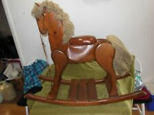 antique Woods of America Inc. 1983 rocking horse