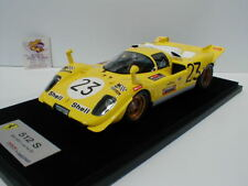 Look Smart LS18-08E -Ferrari 512 S No. 23 1000 KM Spa 1970 Derek Bell 1:18  NEU