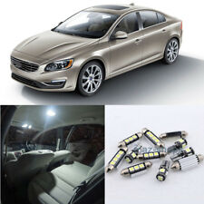 Error Free White 16Pcs Lights LED Interior package Kit For 11-17 Volvo S60 #E