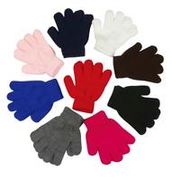 Wholesale Kid's Winter Gloves Kids Black Gloves Bulk Kid's Winter Gloves 12 Pair