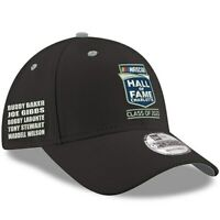 New Era NASCAR Hall of Fame Class of 2020 9FORTY Snapback Adjustable Hat - Black