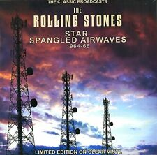 The Rolling Stones Star Spangled Airwaves Classic Broadcasts1964-66 clear vinyl