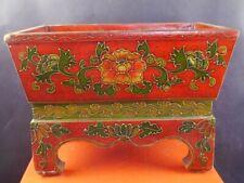 kleine rote asiatische Truhe Aufbewahrungskiste Truhe Deko Ablage 1903-297