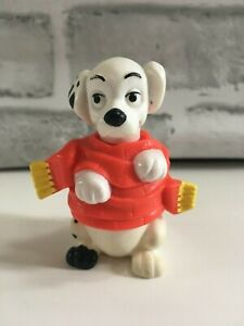 MCDONALDS HAPPY MEAL TOY DISNEY 101 DAMATIANS DOG WITH RED SCARF DALMATIAN FIGUR