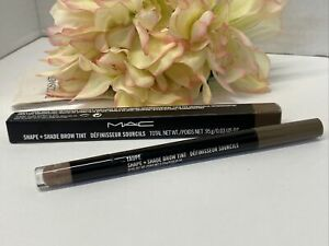 MAC Shape + Shade Eye Brow Tint Powder and Liner -Taupe- NIB Authentic FreeShip