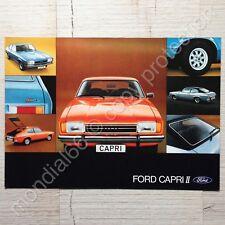 Gesamtprospekt Ford Capri II 🚦Rarität • 01/1975 ⭐️ TOP-Zustand!