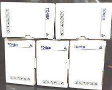 5x Compatible toner for Brother MFC9125CN printer, TN240B,TN240C,TN240M,TN240Y