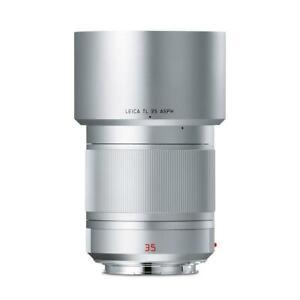 Leica Summilux-TL 35mm f/1.4 ASPH lens, silver anodized #11085