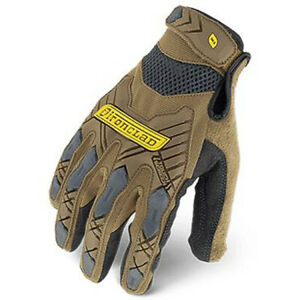Ironclad Command Impact Brown Tradie Work Gloves Builders Construction New