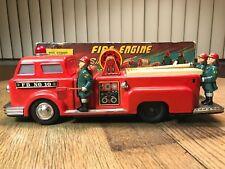 Vintage Marx Linemar J-4586 Tin Toy Fire Engine