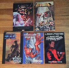 Marvel Graphic Novel Lot Of 5 Different X-Men , Spiderman , Best Of Marvel '96