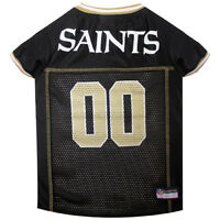 New Orleans Saints Officially Licensed NFL Pets First Dog Pet Jersey XS-2XL NWT