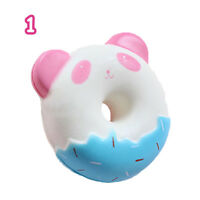 Jumbo Squishy Doughnut Slow Rising Squeeze Toys Stress Relief Scented Animal