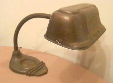 antique ornate heavy cast iron electric Metal Craft adjustable desk table lamp