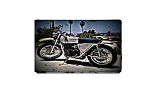 1972 Ossa Yankee 500 Bike Motorcycle A4 Photo Poster