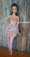 BARBIE FASHIONS Ballerina Bodysuit and Accessories