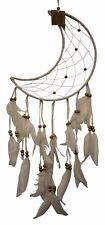 Atrapasueños Atrapador De Sueños 60 cm luna con perlas Místico ESOTÉRICO INDIOS