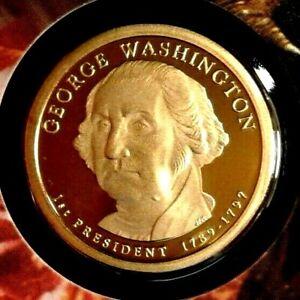 2007-S  George  Washington  DCAM  Presidential  Dollar Beautiful Coin