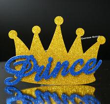 10 Foam Crown Party Favors Gold Crown Prince Baby Shower Recuerdos De Baby