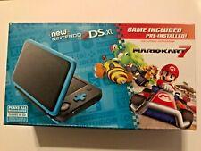 Nintendo 2DS XL with Mario Kart 7 - Black/Turquoise