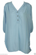 Unbranded Hip Length Mandarin Collar Tops & Shirts for Women