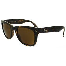 Ray-Ban Sunglasses Folding Wayfarer 4105 710 Havana Tortoise Brown Medium 50mm