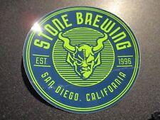 STONE BREWERY GARGOYLE LOGO Blue Green 3.5