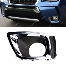 LH Chrome Fog Light Cover Trim Bezel For Subaru Forester 2.0XT 14 15 #57731SG090