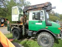Klaus Bagger Teleskop für Unimog Brunnenbau Bagger Neuteile