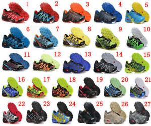 Women/Men Salomon Athletic Running Training Sports Outdoor Hiking Offroad Shoes