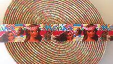 "7/8""  Moana inspired Grosgrain Ribbon - By The Yard - USA Seller"