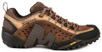 Merrell 73705 Intercept Mens Leather Sneaker Hiking Shoes Moth Brown Size