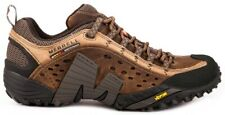 Merrell 73705 перехвата мужские кожаные кроссовки туристские ботинки Мотылек коричневый размер