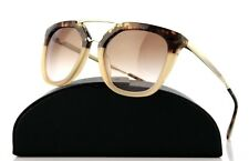 15c369857d2d RARE NEW Genuine PRADA CINEMA Brown Havana Gradient Sunglasses SPR 13Q  ROZ0A6 PR