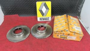 7701466540 Pair Brake Discs Renault R4 R5 R12 R18