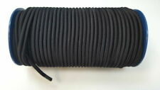8mm Black Elastic Bungee Rope Shock Cord Tie Down Boats Trailers 10m
