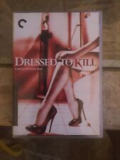 Dressed to Kill (Dvd, 2015, 2-Disc Set, Criterion Collection)