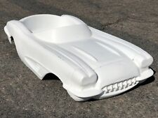 1958 Chevrolet Corvette hot rod stroller pedal car fiberglass body 1959 1960