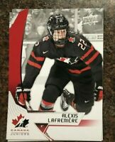 2019-20 Upper Deck Team Canada Juniors Alexis Lafreniere Base Card #37