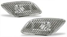 fits 02 03 Subaru Impreza WRX Diamond Clear Front Side Marker Lights Pair