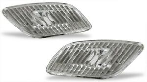 fits 02 03 Subaru Impreza WRX Diamond Clear Front Side Marker Lights Pair