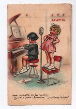 Carte postale GERMAINE BOURET. Une vedette de la radio. Carte MS Paris