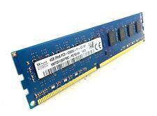 Hynix 4GB PC3-12800 DDR3 1600 240-Pin DIMM Desktop RAM (HMT351U6EFR8C-PB N0 AA)