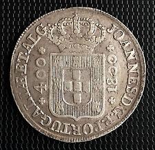 PORTUGAL 400 REIS 1800