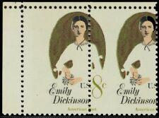1436, Misperforation ERROR Pair Missing Denomination on Left Stamp - Stuart Katz
