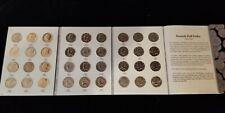 KENNEDY HALF DOLLAR 2 BOOK SET 1964-1999 72 UNCIRCULATED COINS