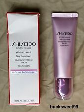 Shiseido White Lucent Day Emulsion - SPF 23 1.7 oz. - WRINKLED BOX, SEALED