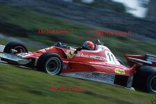 Niki Lauda Ferrari 312 T2 brasileño Grand Prix 1977 fotografía